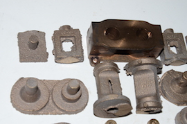 cylinder view Reeves Borderer Bertinat live steam engine castings for sale