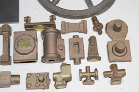 cylinder view Reeves Lady Stephanie live steam engine castings for sale