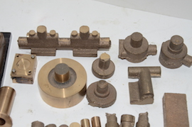 parts view Reeves Marcher Bertinat live steam engine castings for sale