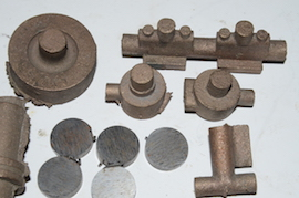 base view Reeves Marcher Bertinat live steam engine castings for sale