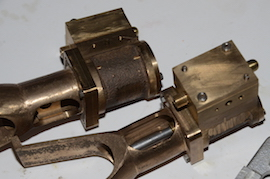 standard view Reeves Warrior MK2 Bertinat live steam engine castings for sale