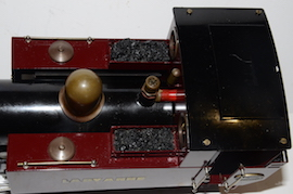 top view Roundhouse Lady Anne live steam spirit fired 16mm 32mm 45mm for sale