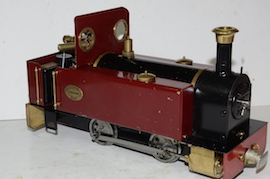main view Roundhouse Millie live steam 32mm for sale