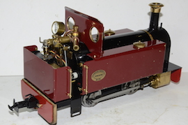 rear view Roundhouse Millie live steam 32mm for sale