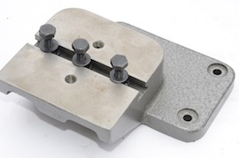 side view myford riser block dividing head   for sale