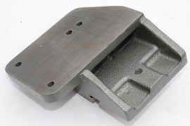 bottom view myford riser block dividing head  for sale