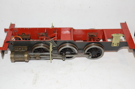 main view rob roy martin evans tank loco  live steam locomotive for sale