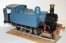 "main view Rob Roy 3.5"" live steam loco engine for sale. Martin Evan 060 Caledonian"