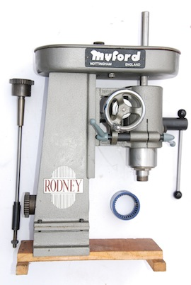 front view rodney myford milling machine for sale