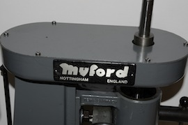 top view myford rodney milling machine Super 7 ML7R ML7 lathe for sale