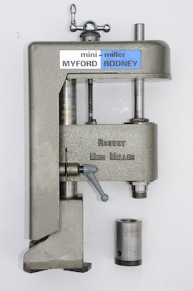 front view rmyford rodney mini miller vertical milling machine super 7 ml7 ml7r for sale