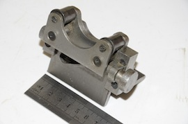 front view roller file rest for myford lathe  for sale