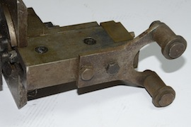 side2 view roller file rest for myford lathe  for sale