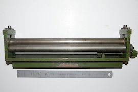 main view sheet metal rollers for live steam model maker for sale