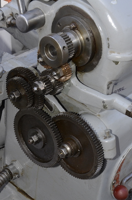 gears view scope lathe for sale