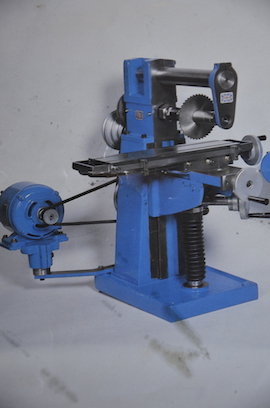 horizontal view English Sharp milling machine Town Bent for sale