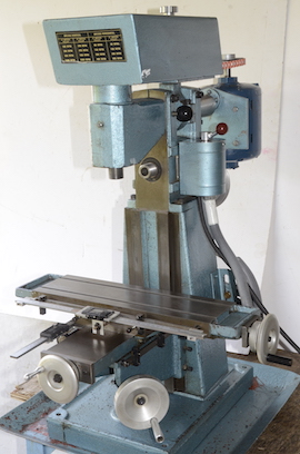 main view English Sharp milling machine Town Bent for sale