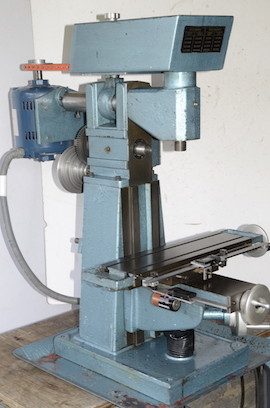 right view English Sharp milling machine Town Bent for sale