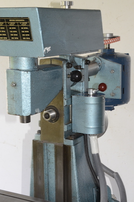 speed view English Sharp milling machine Town Bent for sale