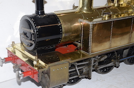 "main 5"" Simplex 0-6-0 live steam tank loco for sale"