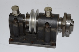 Lathe head milling spindle. Wheel pinion cutting for sale.