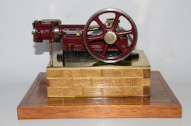 main view stuart live steam horizontal engine 10H for sale