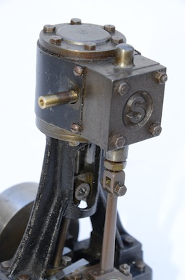 valve view stuart live steam engine 10V for sale