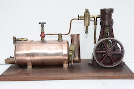 main2 view stuart live steam engine 10V plant with boiler for sale