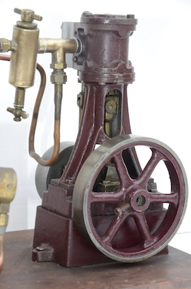 left view stuart live steam engine 10V plant with boiler for sale