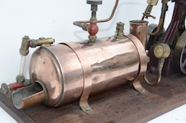 boiler1 view stuart live steam engine 10V plant with boiler for sale