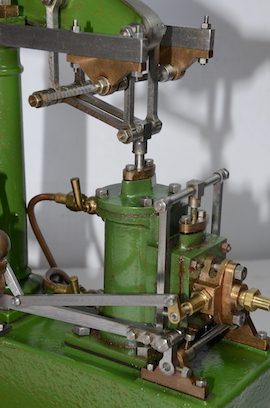 valve view live stuart steam beam engine for sale
