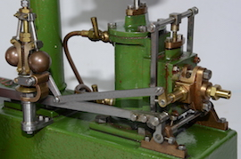 motion view live stuart steam beam engine for sale