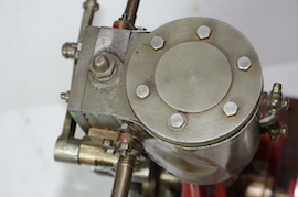 top view stuart live steam number 4 vertical engine for sale