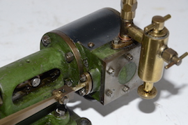 lubricator view stuart live steam engine no 8 for sale
