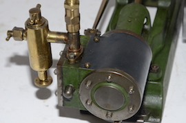 cylinder view stuart live steam engine no 8 for sale