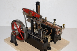plant view stuart live steam beam engine for sale