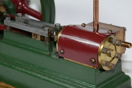 cylinder2 view stuart live steam engine S50 mill for sale