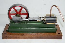 left view stuart live steam engine S50 mill for sale