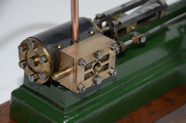 cylinder view stuart live steam engine S50 mill for sale