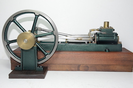 right view stuart victoria horizontal live steam engine for sale