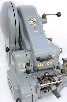 front view SK126835M Myford Super 7 7B lathe for sale