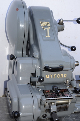 front view Myford Super 7B pcf gearbox lathe for sale SK131054