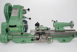 front view SK151184 Myford ML7R lathe for sale