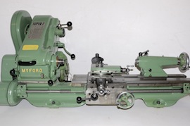 main view Myford Super 7 lathe SK151321M for sale
