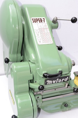 front view Myford Super 7B  lathe for sale SK153044