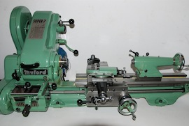 front view Myford super 7 7B lathe for sale SK153357