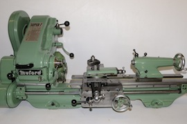 Front View Myford super 7 7B lathe for sale SKL153360