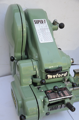 left view Myford Super 7 ML7 ML7R lathe for sale SK163754