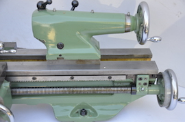 bed view Myford Super 7 ML7 ML7R lathe for sale SK163754