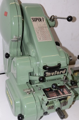 front view SK158500M Myford Super 7 7B lathe for sale